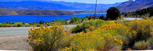 Topaz Lake, Route 395, California