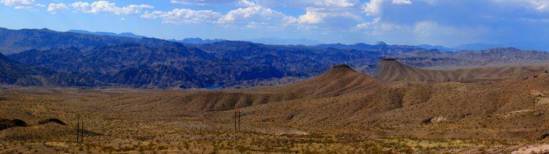 Northern Arizona Desert on the way to Phoenix.